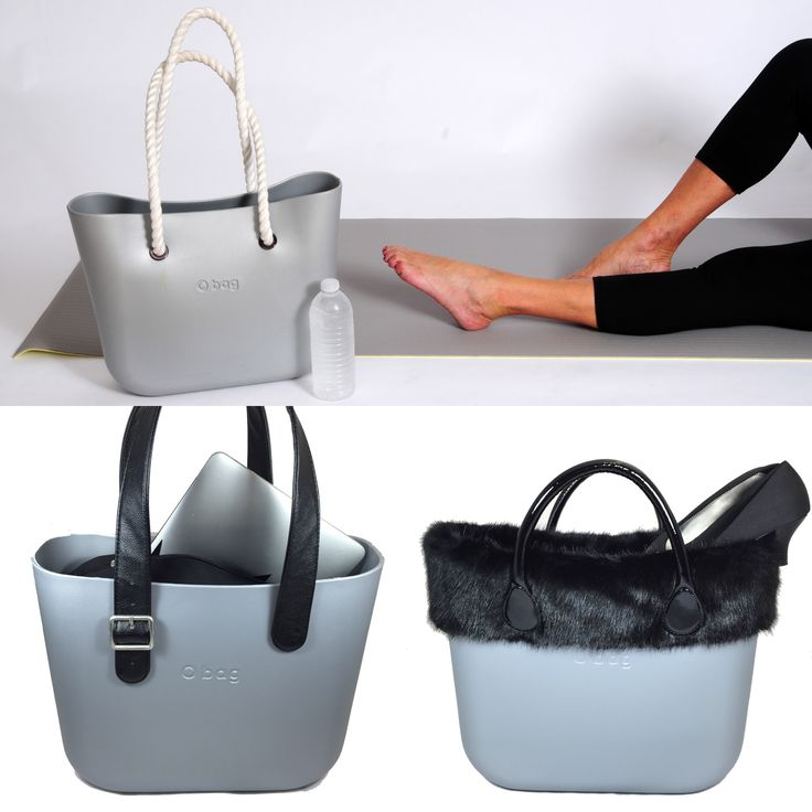 """Yogi by morning. Executive by day. Socialite by night. One indestructible bag = Fashion for every occasion! Use """"silverobag"""" for 15% off off silver O Bag!"""