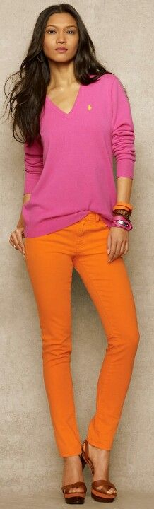 It's Dora the Explorer all grown up! (Not really, but this Ralph Lauren design sure is coincidental!)