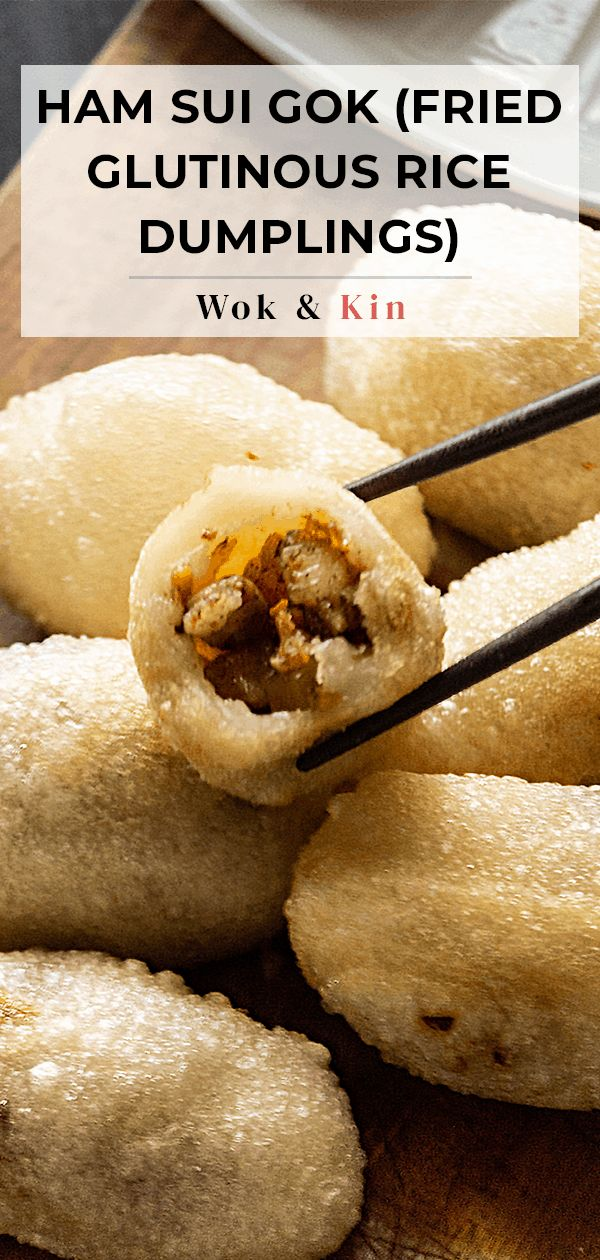Jun 13, 2020 – If you've never made Ham Sui Gok at home before, now's the time. These gorgeous fried glutinous dumplings…
