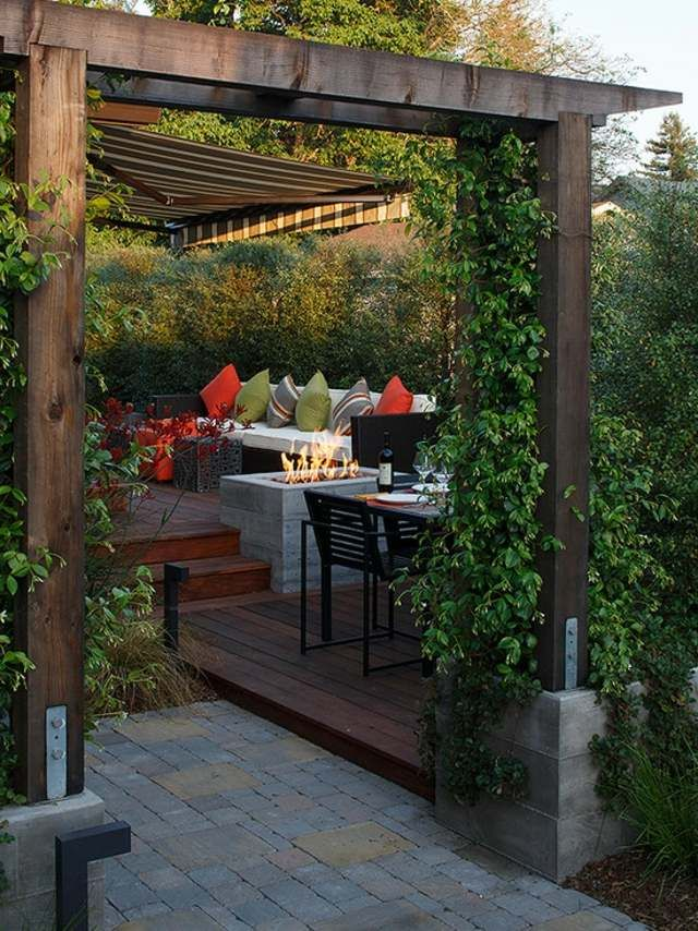 The 25  best ideas about cheminee exterieur on pinterest ...