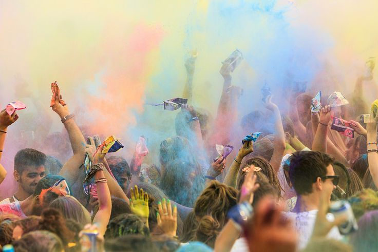 3rd Day Full of Colors , Festival of Colors in Thessaloniki Greece