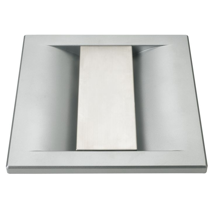 Heller 250mm Rectangle Stainless Steel Exhaust Fan