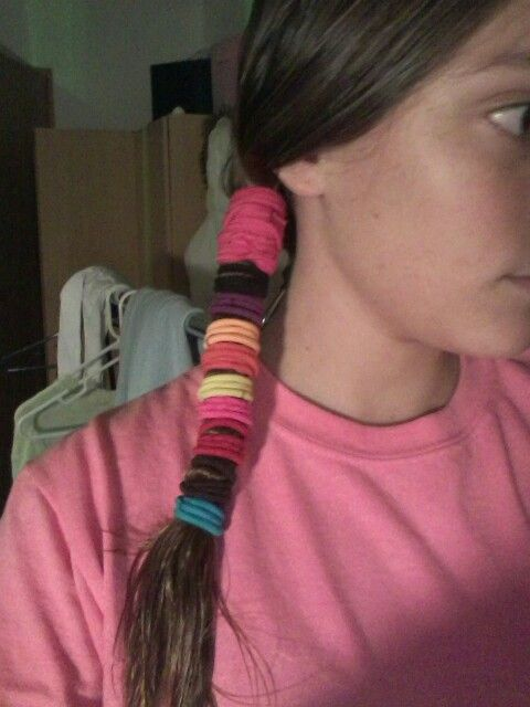 How to straighten your hair overnight take a shower pull your how to straighten your hair overnight take a shower pull your hair to the side tie bout 17 hair ties around your hair and sleep it might hurt if urmus Image collections