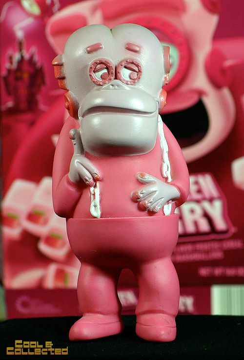 Vintage Frankenberry advertising promotional vinyl figure. One of my favorite pieces.