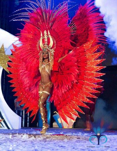 Trinidad carnival red