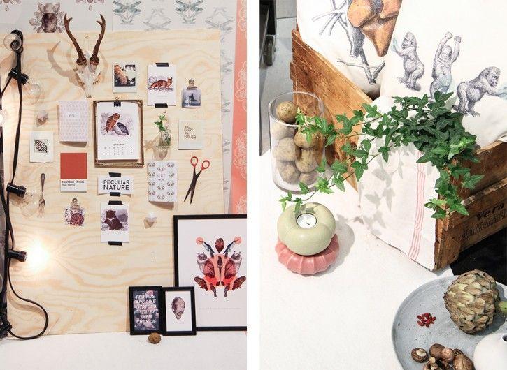Beautiful instpiration and products by Edit&björnen #nordicdesigncollective #formex #formexfair #designfair #stockholmsmassan #fair #nordic #design #editochbjornen #peculiarnature #postcard #prints #print #poster #scissor #moodboard #plant #artichoke #cranium #bear #pantone #lamp