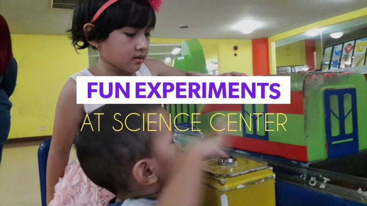 Fun Experiments at Science Center, TMII, Indonesia