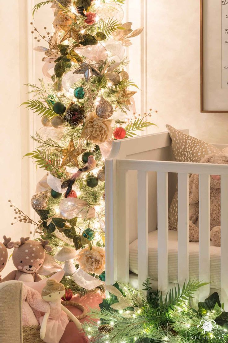 Nursery Christmas Decorations Whimsical Bedroom Ideas Kelley Nan Christmas Decorations Whimsical Bedroom Christmas