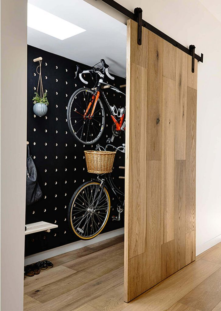 Amazing space-saving cool bike storage ideas for small room and apartments. These indoor bike storage solutions are for pedal pushers who can't part with their bike.
