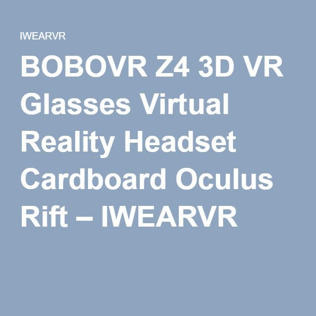 this vr glasses is very good.The 3 d resolutions are great.It has a better cpu and easy to wear. The quality of the product is in high standard.