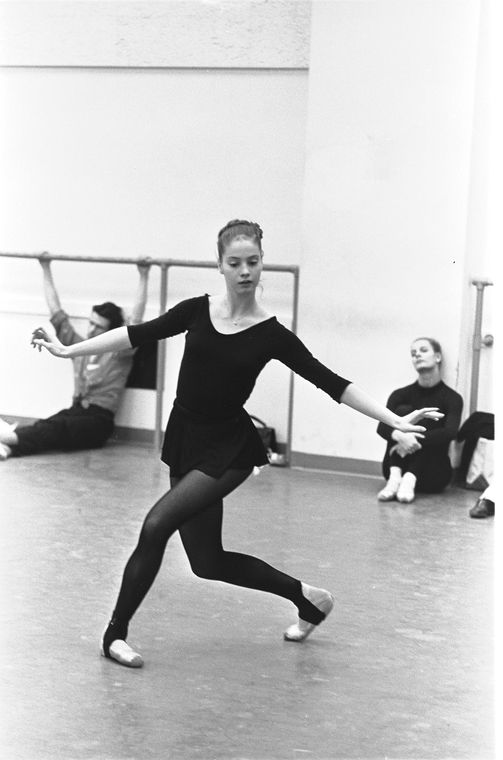 """New York City Ballet - rehearsal of """"Don Quixote"""" with Suzanne Farrell, choreography by George Balanchine (New York)"""