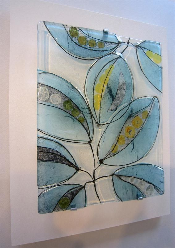 Wendy Newhofer Seeds of Change Kiln Formed Glass 42 x 33 x 4cm http://www.wendynewhofer.com
