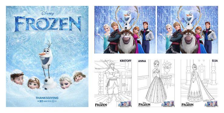 Nuevas actividades para niños de la película Frozen de Disney