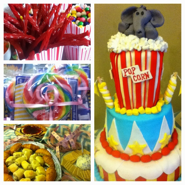 Bridal shower with a circus theme for the #stawley2012 wedding!