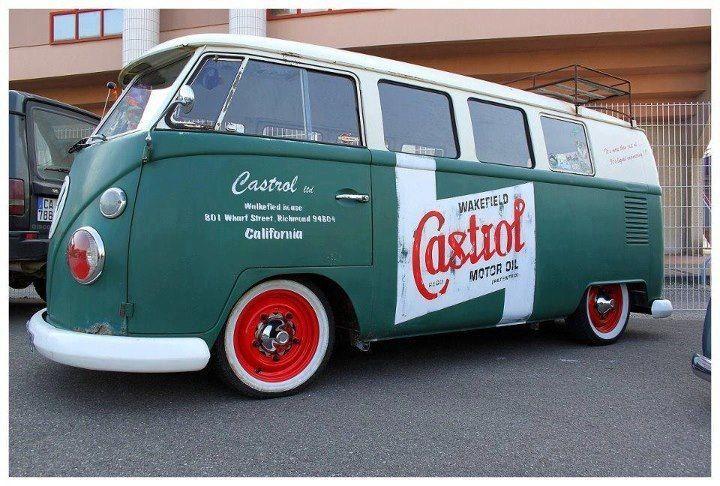 Castrol VW Kombi Bus