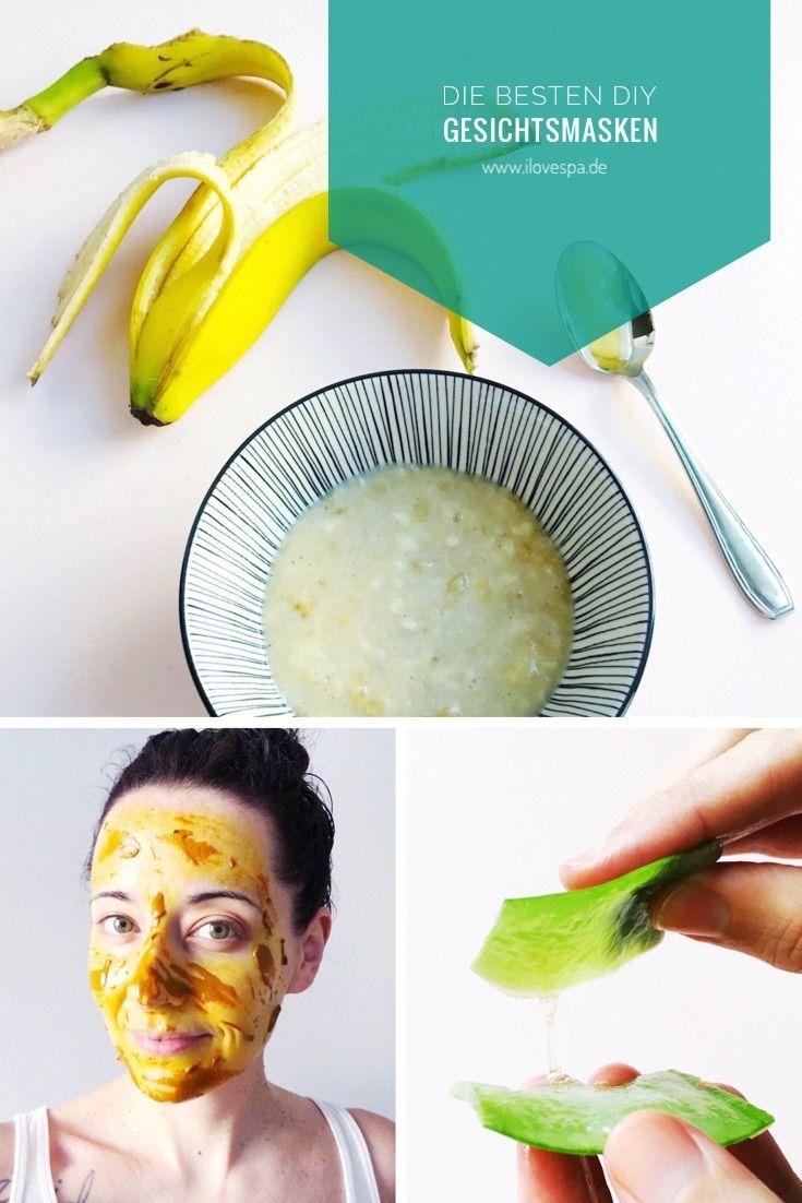 Die besten DIY Gesichtsmasken - Kosmetik selber machen - DIY Gesichtsmaske aus natürlichen Zutaten
