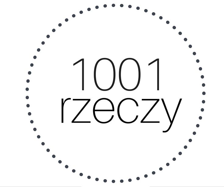 1001 RZECZY