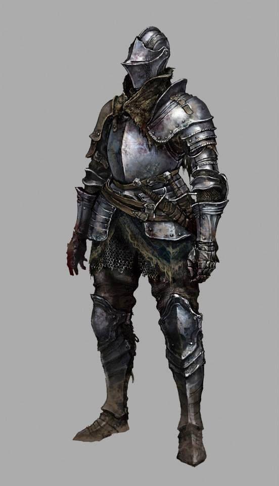 Dark Souls 3 version of the Elite Knight armor set ...