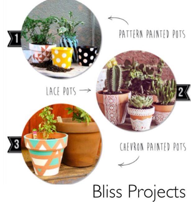 1-3 different ideas for diy terracotta pots. Use as gifts or create a design that suits you. Perfect present for kids, adults, teenagers, pretty much anyone. #blissprojects #terracotta #chalkboard #lifeandcolour #herbs #potplants #kitchendecor #gardening #diy #gifts #giftsforkids #flowers #flowerdecor #personalise #geometrics #spots # watersucculents ##creative