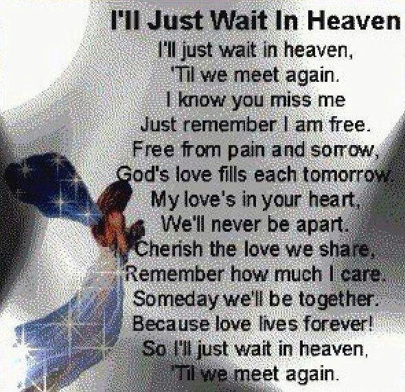 Will Be Missing You Quotes: Quotes - In Memory Of Loved