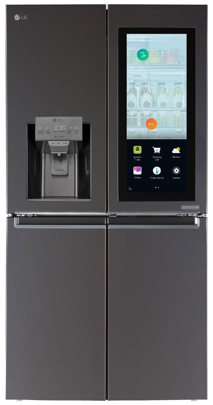 Fesselnd Beim LG InstaView Hat Auch Amazon Die Hand Im Spiel. Der Kühlschrank Ist  Alexa