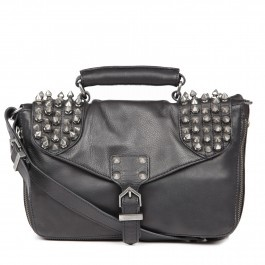 Sam Edelman - Felix studded leather messenger bag