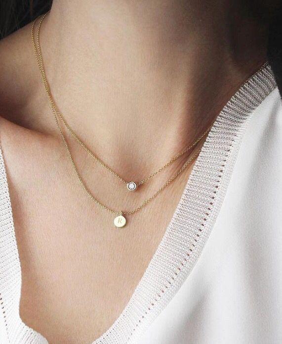 Stitch fix jewelry inspiration! Cute necklace! Try stitch fix!
