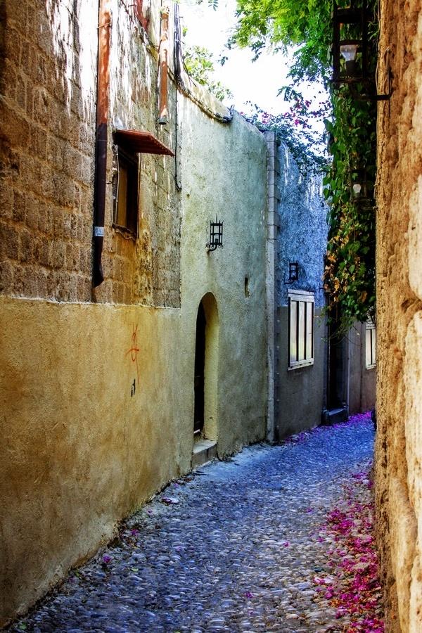 Streets of Rhode, Greece