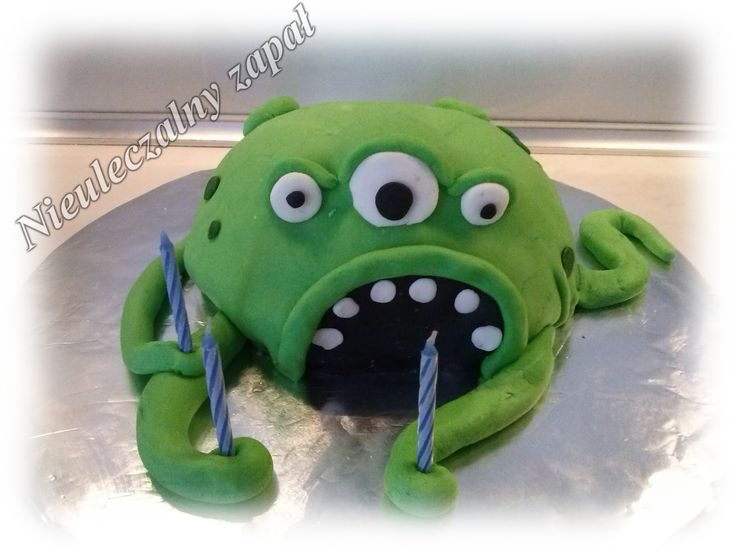 Tort potwór morski,cake sea monster