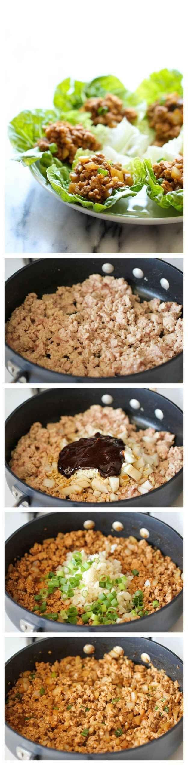 Rollitos de pollo Chang y lechuga Copycat P.F
