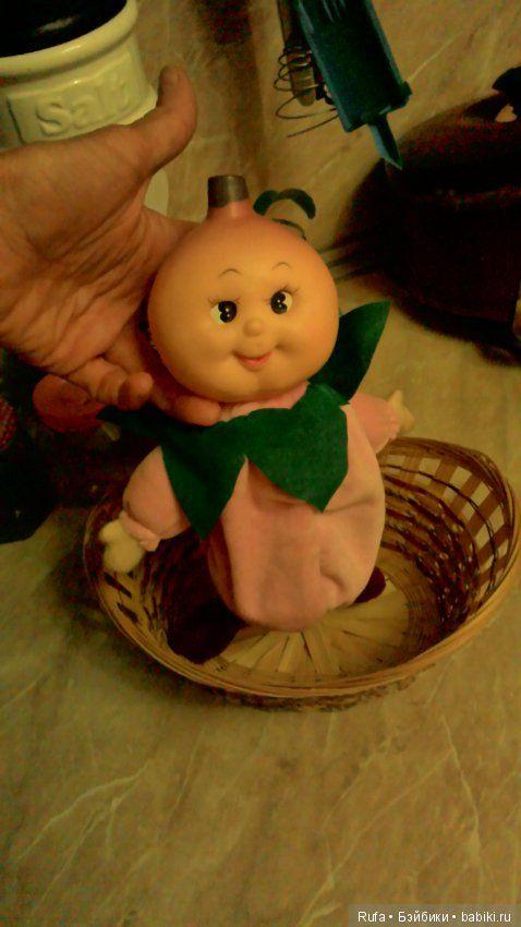 """Куколка из серии """"фруктовый сад"""" 90- х годов / Куклы и игрушки детства / Шопик. Продать купить куклу / Бэйбики. Куклы фото. Одежда для кукол"""