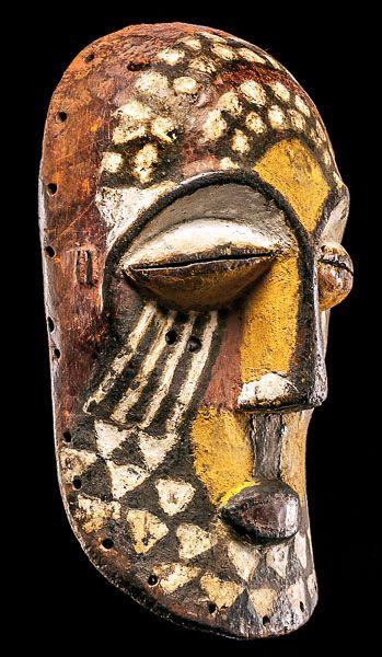 Kuba Ngady Mwaash aMbooy Mask. This and more rare tribal art for sale on CuratorsEye.com