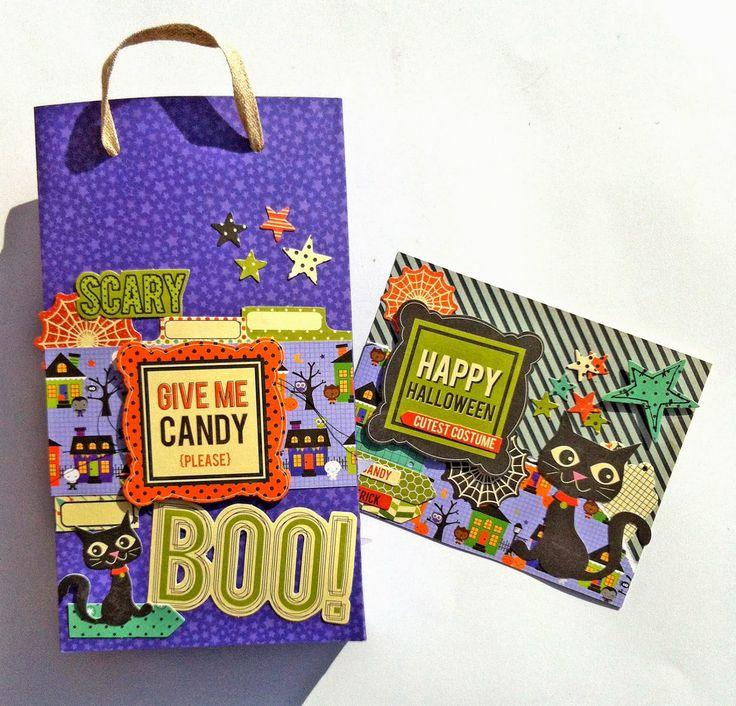 Mad Scrap Project: Halloween con MrsDiaz Scrap #scrapbooking #halloween #doodlebugdesign