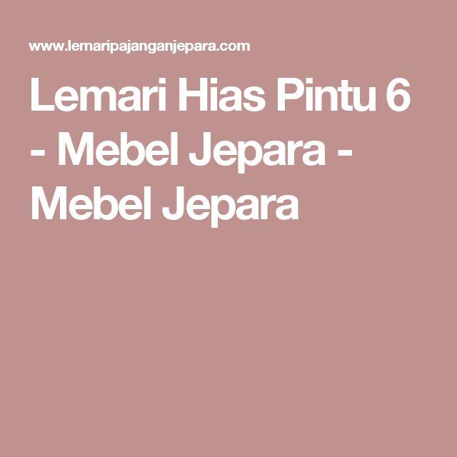 Lemari Hias Pintu 6 - Mebel Jepara - Mebel Jepara