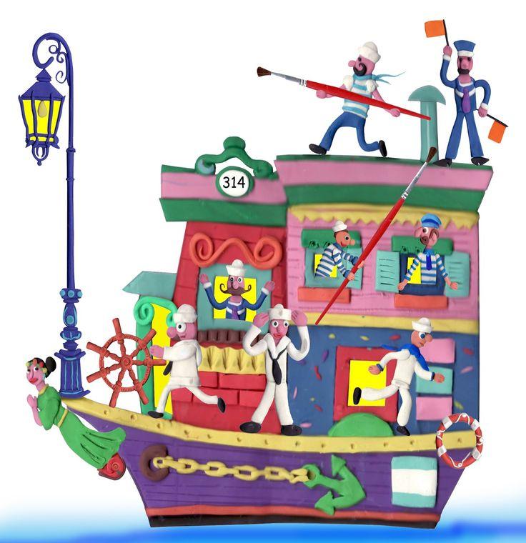 © Miguel Zicca | Ilustradores Argentinos | Plastilina / Clay illustration http://www.ilustradoresargentinos.com/miguel-zicca/