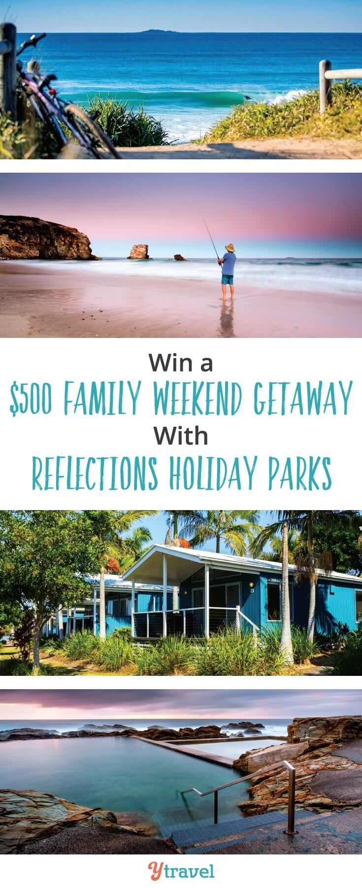 Win a weekend family getaway worth $500 to a Reflections Holiday Park in NSW. Great for family travelers who love camping and caravan park stays