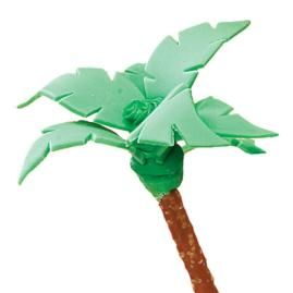 How to make a Palm Tree for your summer treats.