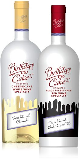 Cake Flavored Wine Exists