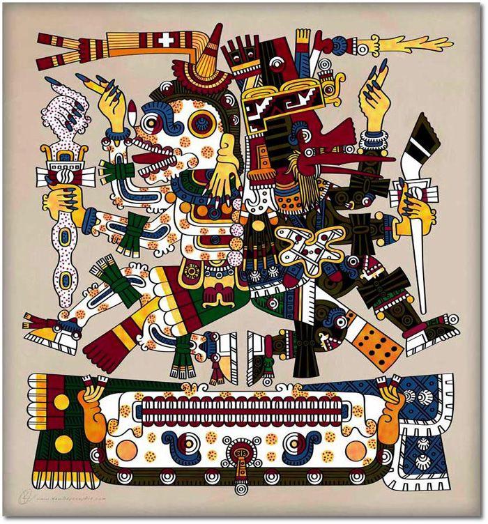 Mictlantecuhtli y Quetzalcoatl, vida y muerte