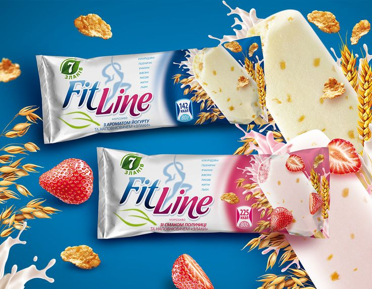 FitLine Ice Cream on Behance