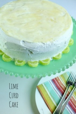 Lime Curd Cake | Baking pies, cookies, cakes | Pinterest