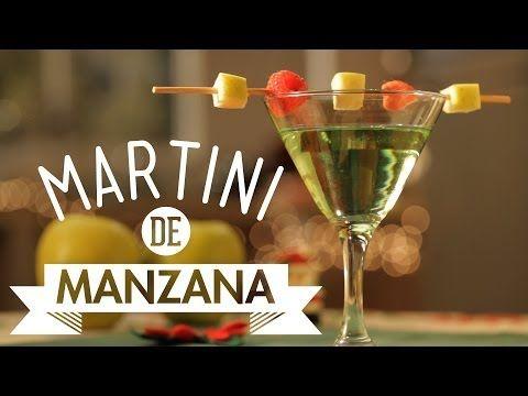¿Cómo preparar Martini de Manzana? - Cocina Fresca - YouTube