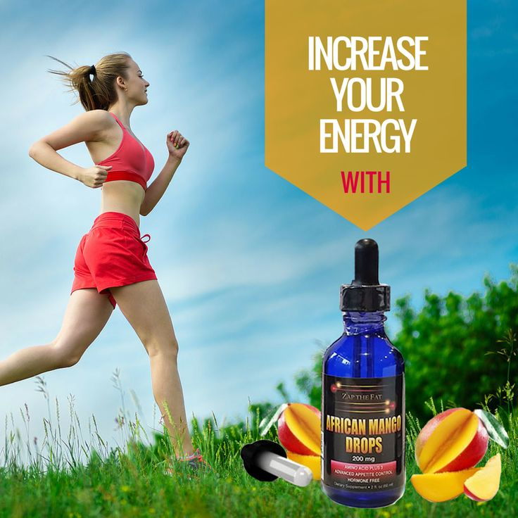 Increase your energy with African Mango Drops.   #africanmangodrops #increaseenergy #boostmetabolism #healthylife
