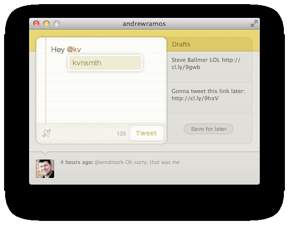 Wren — Tweet without being distracted by your timeline