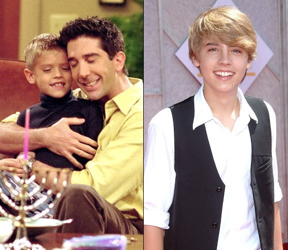 I did not know that Cole Sprouse was baby Ben in Friends. Mind blown.