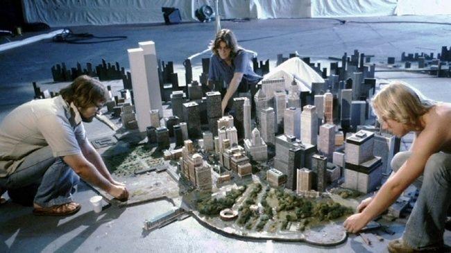 Nejznámější filmové scenérie, jenž jsou ve reálu miniaturami