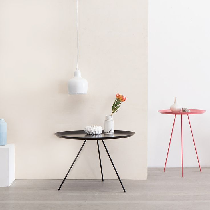 Steely Side Tables
