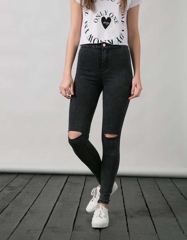 Resultado de imagen para jeans negros