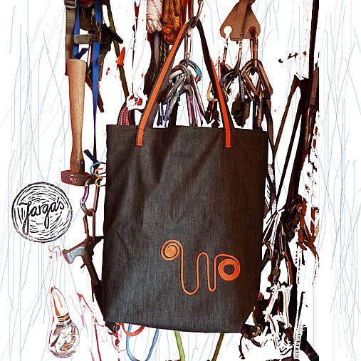 Lezecká taška - dark