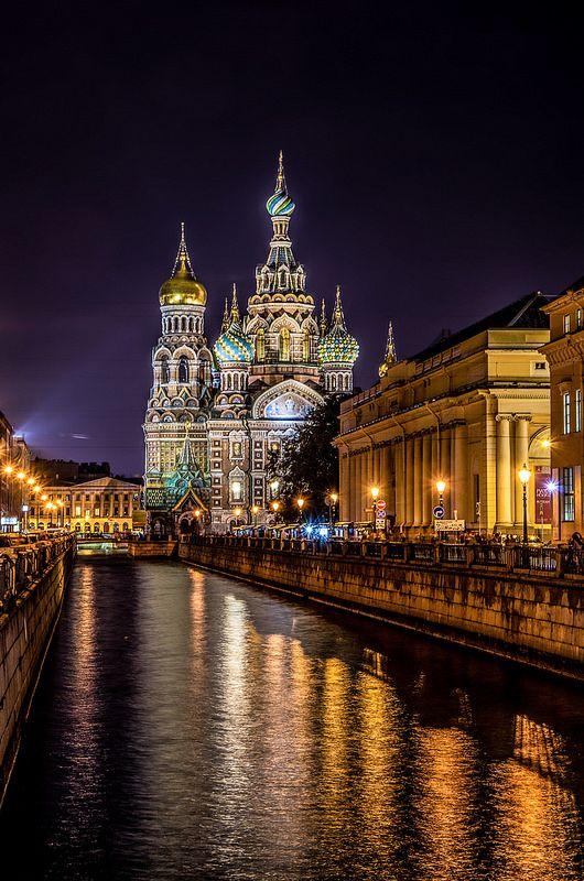 Chiesa del Salvatore sul Sangue Versato - San Pietroburgo - Russia